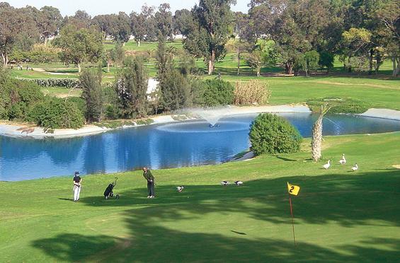 Tunisko - Golf - Carthago Golf Club