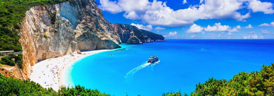 """Lefkada: """"zelený útěk"""" daleko od davů turistů"""